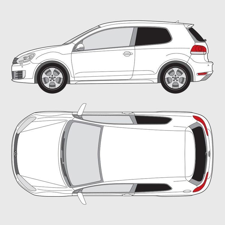 Volkswagen Golf 6 3-dörrar 2008-2013