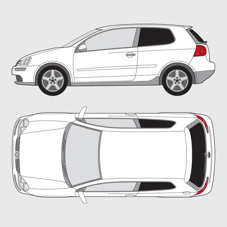 Volkswagen Golf 5 3-dörrar 2004-2008