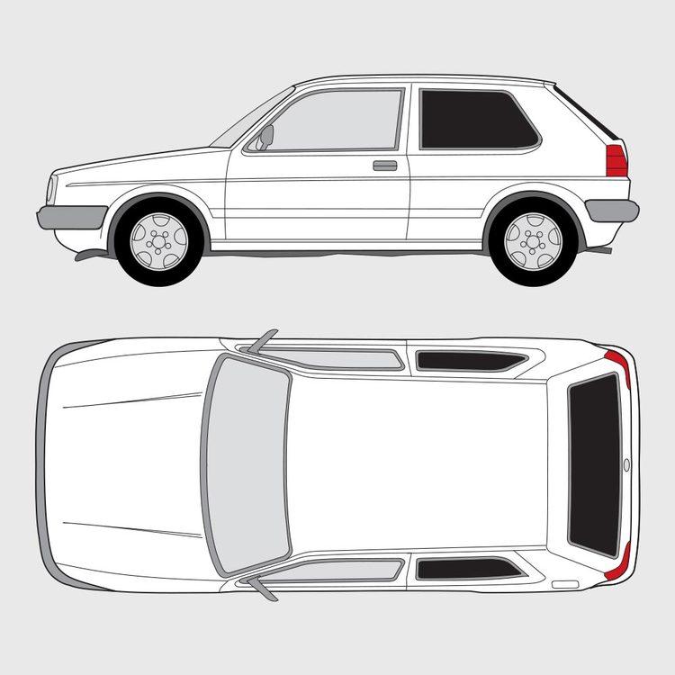 Volkswagen Golf 2 3-dörrar 1987-1992