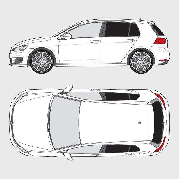 Volkswagen Golf 7 5-dörrar 2012-2016