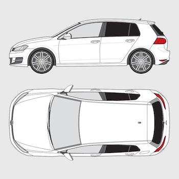 Volkswagen Golf 5-dörrar