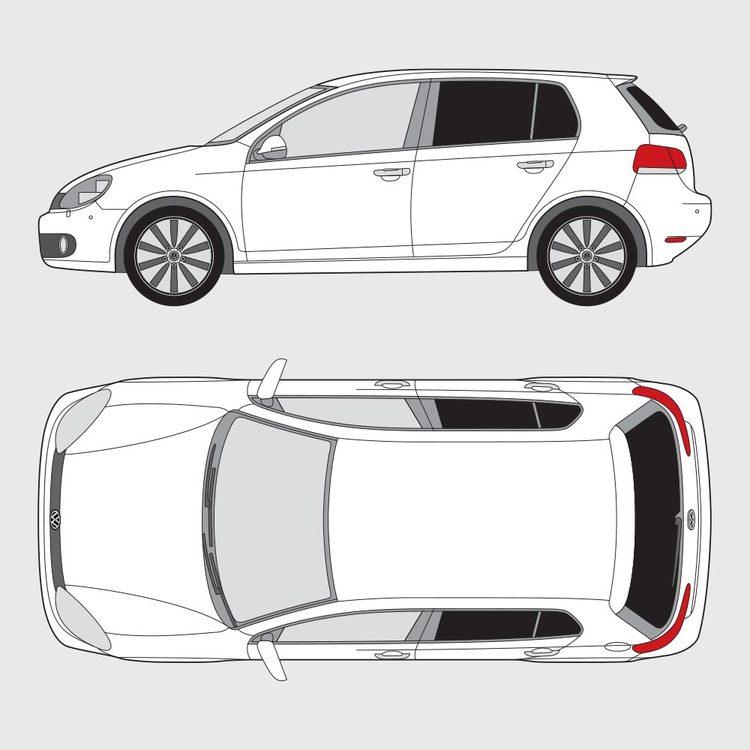 Volkswagen Golf 6 5-dörrar 2008-2013