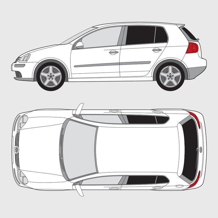 Volkswagen Golf 5 5-dörrar 2004-2008