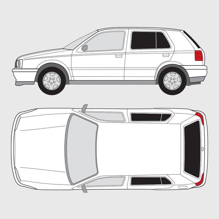 Volkswagen Golf 3 5-dörrar 1998-2003