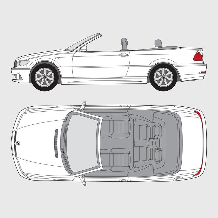 BMW 3 Serie Cab 2000-2006