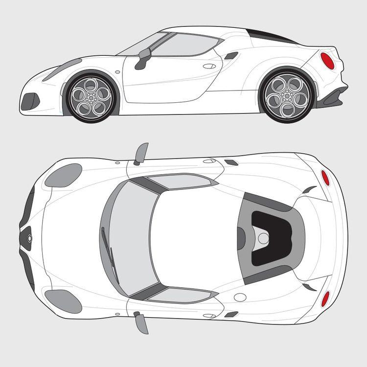 Alfa Romeo 4C 2014-2019