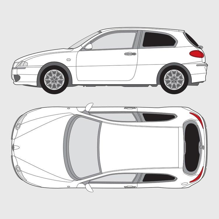 Alfa Romeo 147 3-dörrar 2000-2009