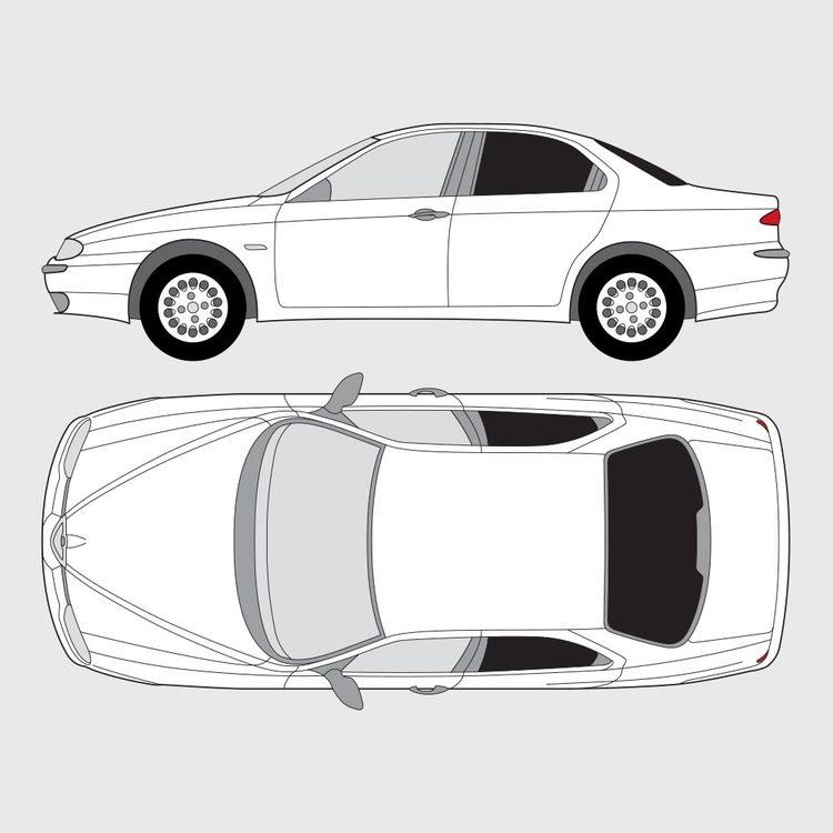 Alfa Romeo 156 4-dörrar 1997-2004