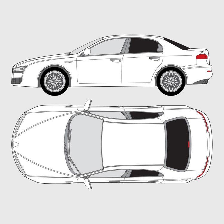 Alfa Romeo 159 4-dörrar 2004-2011