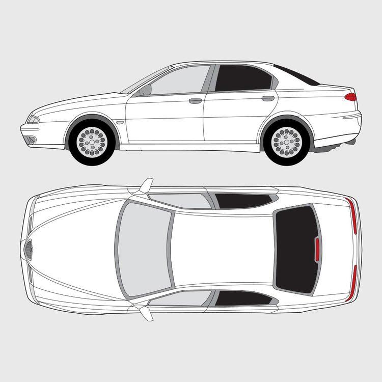 Alfa Romeo 166 4-dörrar 1999-2004