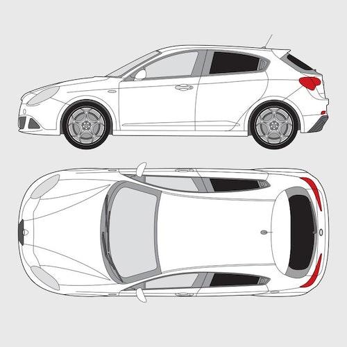 Alfa Romeo Giuiletta 5-dörrar