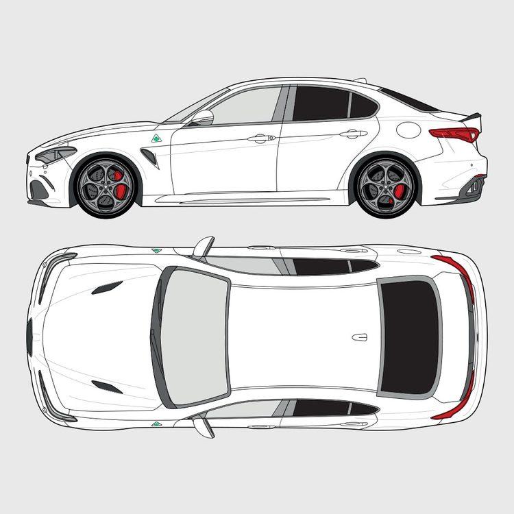 Alfa Romeo Giulia 2015-2019