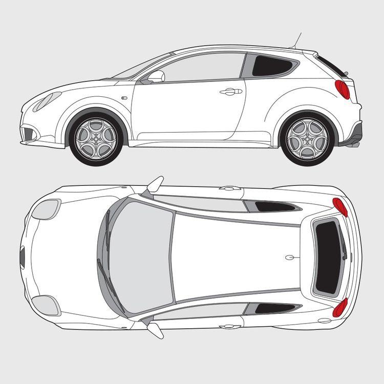 Alfa Romeo Mito 3-dörrar 2008-2013