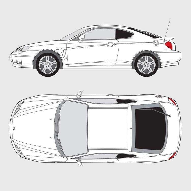 Hyundai Coupe 2002-2009