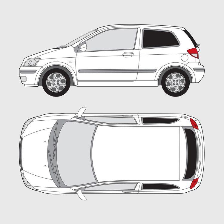 Hyundai Getz 3-dörrar 2002-