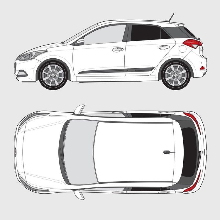 Hyundai i20 5-dörrar 2015-