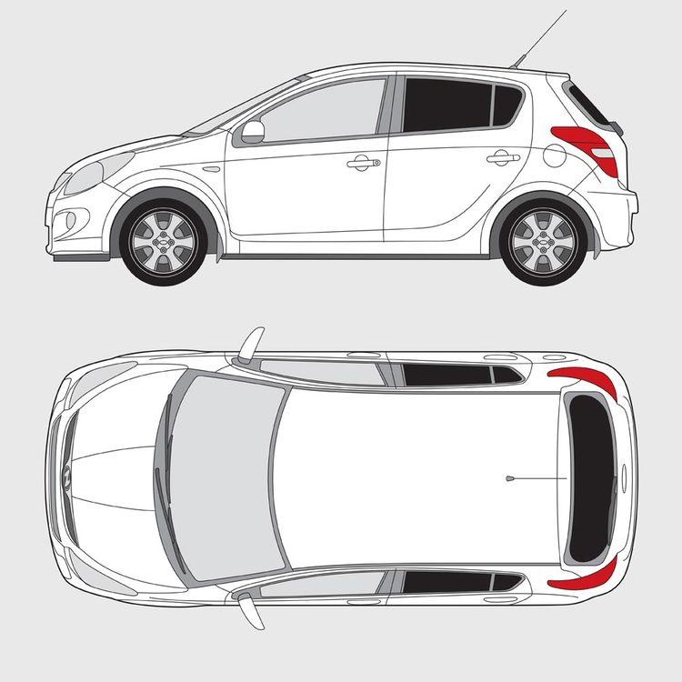 Hyundai i20 5-dörrar 2009-2015
