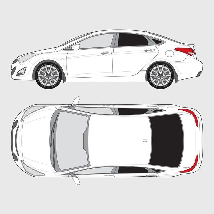 Hyundai i40 5-dörrar 2012-2018