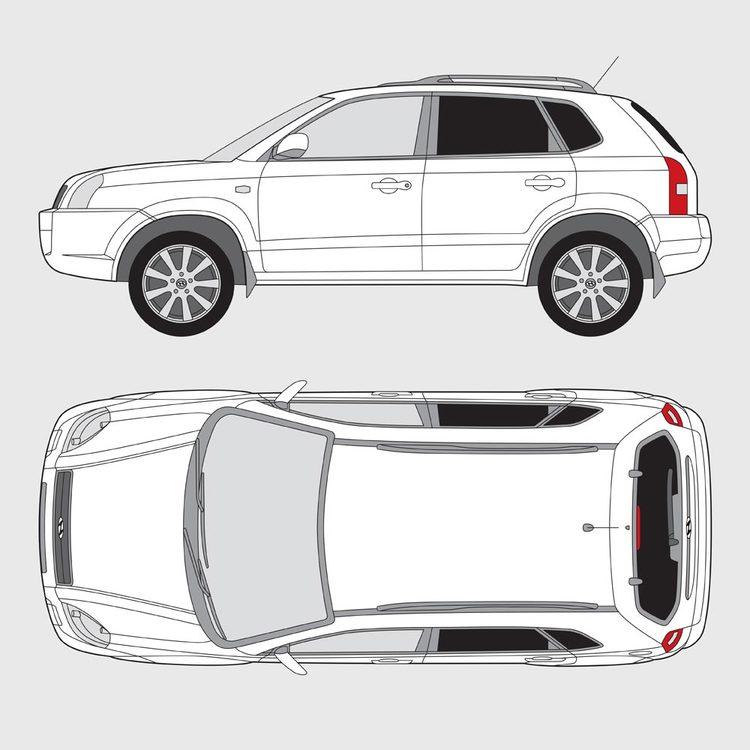 Hyundai Tuscon 2005-2010