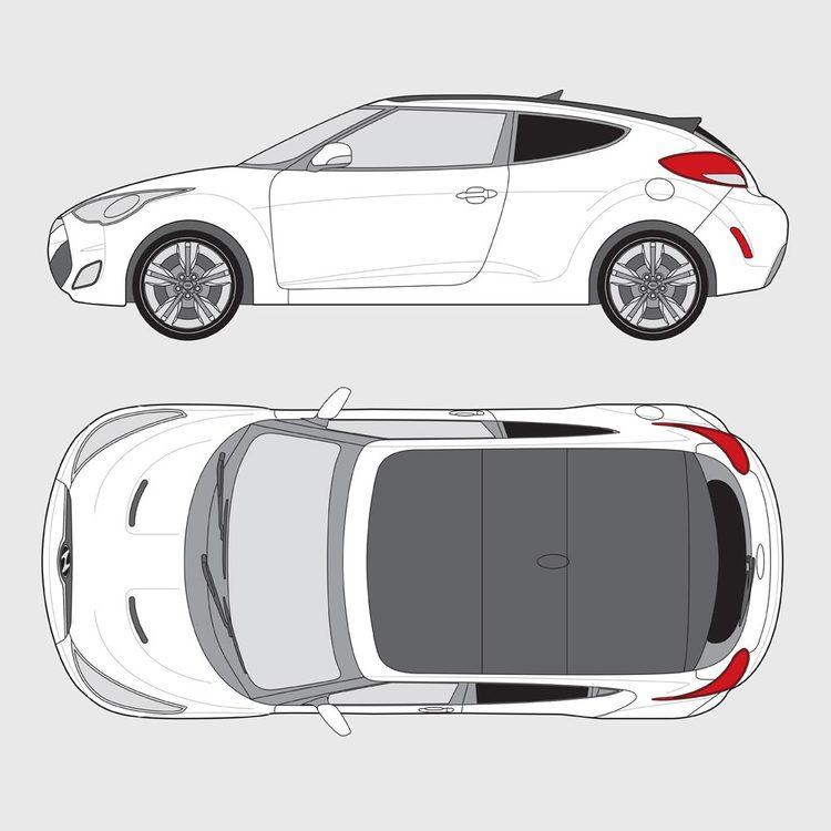 Hyundai Veloster 2011-