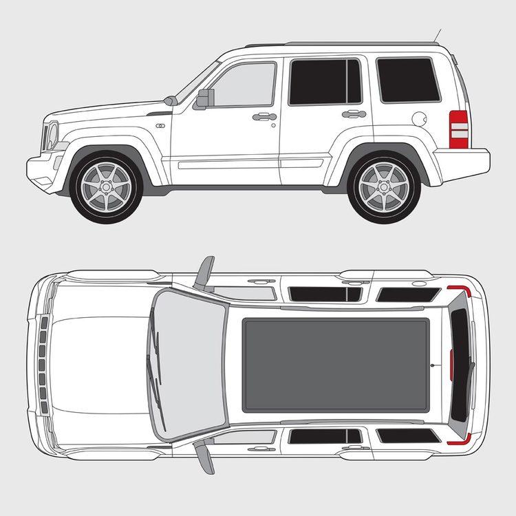 Jeep Cherokee 2007-2012