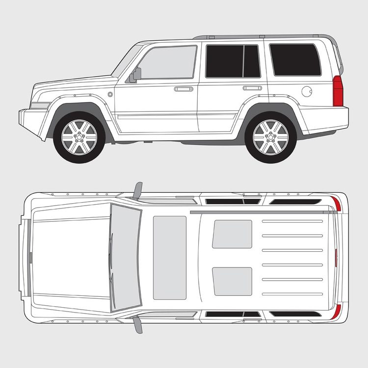 Jeep Commander 2007-