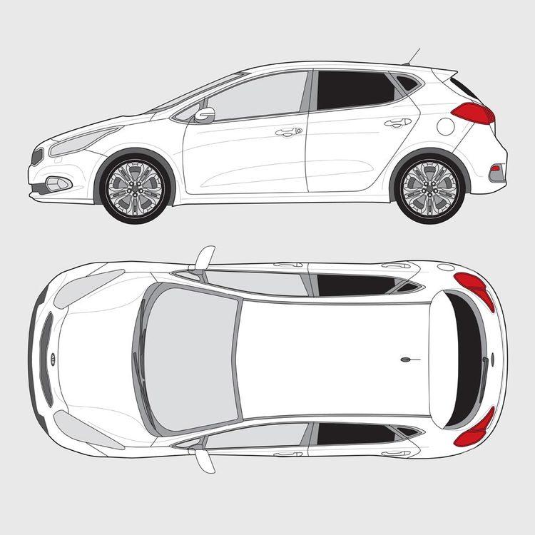 Kia Ceed 5-dörrar 2012-2018