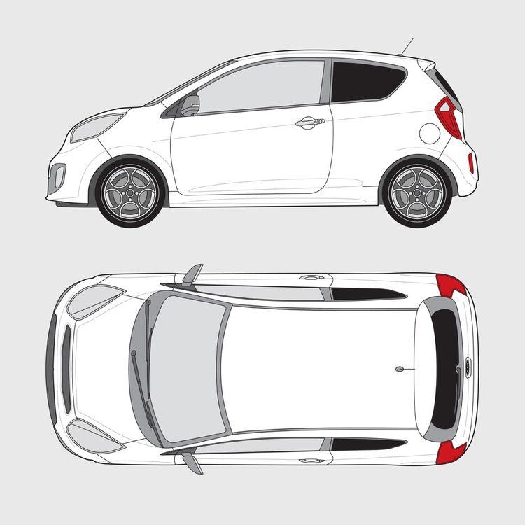 Kia Picanto 3-dörrar 2011-