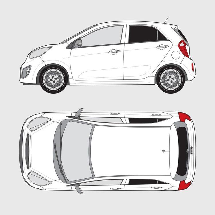 Kia Picanto 5-dörrar 2011-2017