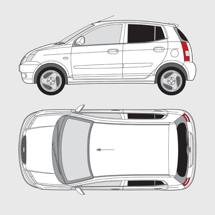 Kia Picanto 5-dörrar 2005-2011