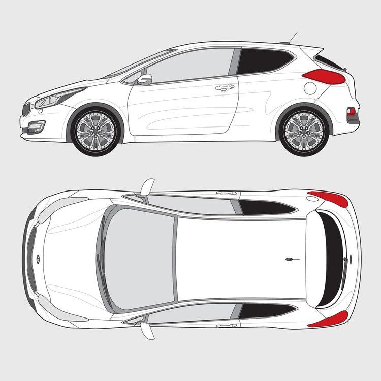 Kia Pro Ceed 3-dörrar 2012-