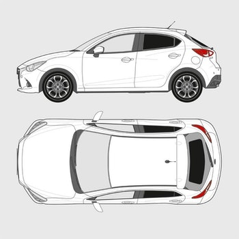 Mazda 2 5-dörrar