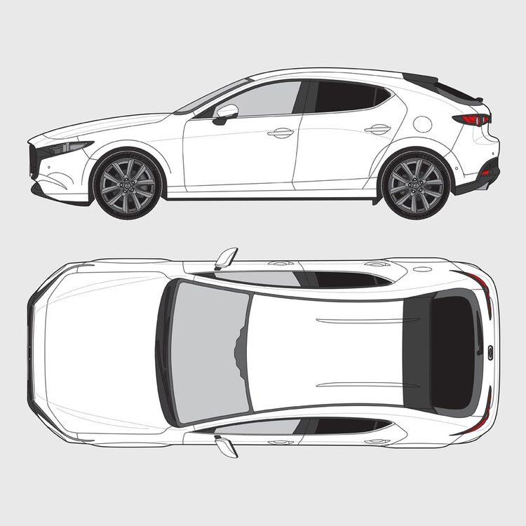 Mazda 3 5-dörrar 2014-