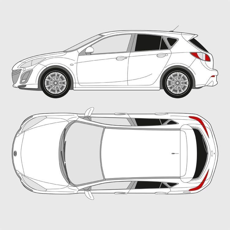Mazda 3 5-dörrar 2009-2013