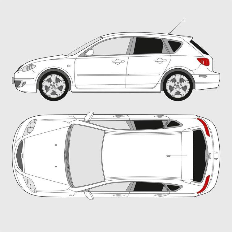 Mazda 3 5-dörrar 2003-2009