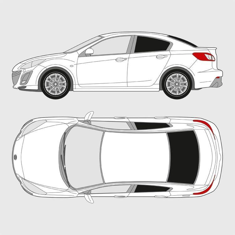 Mazda 3 Sedan 2009-2013
