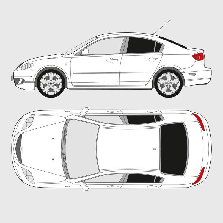 Mazda 3 Sedan 2003-2009