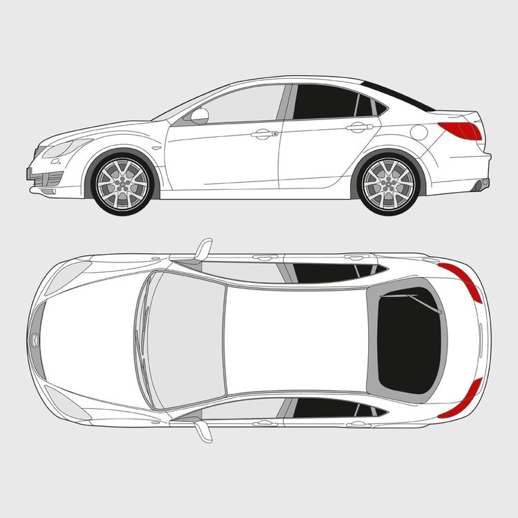 Mazda 6 5-dörrar 2007-2013