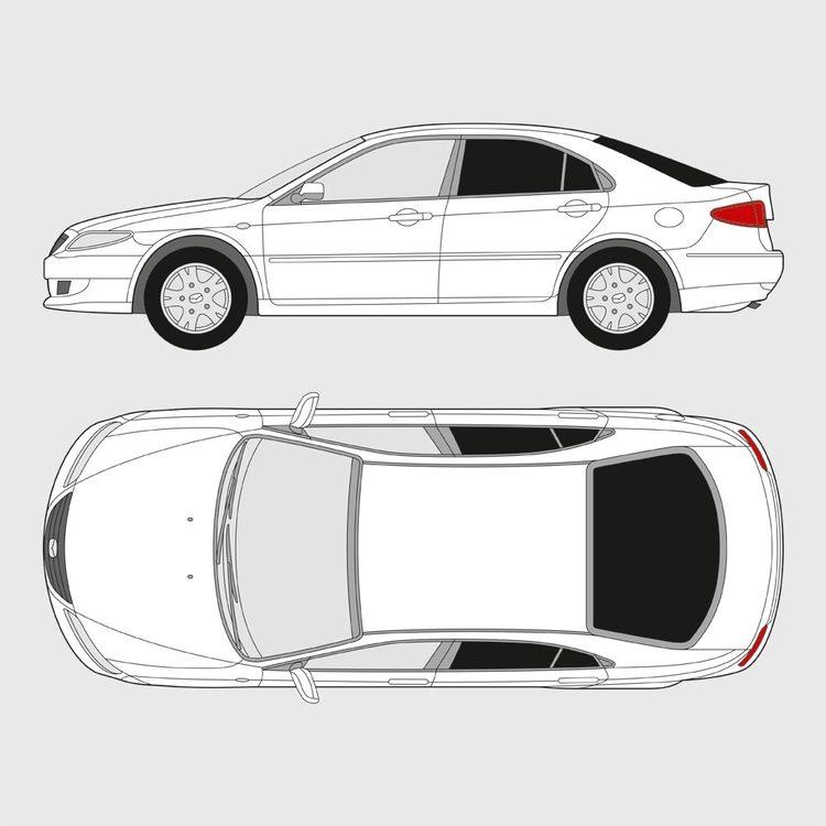 Mazda 6 5-dörrar 2002-2007