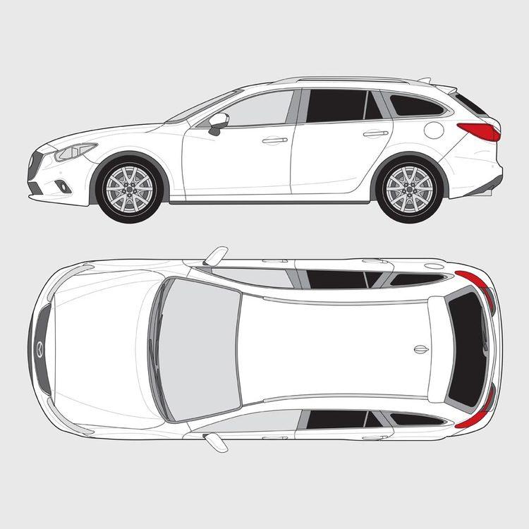 Mazda 6 kombi 2008-2017