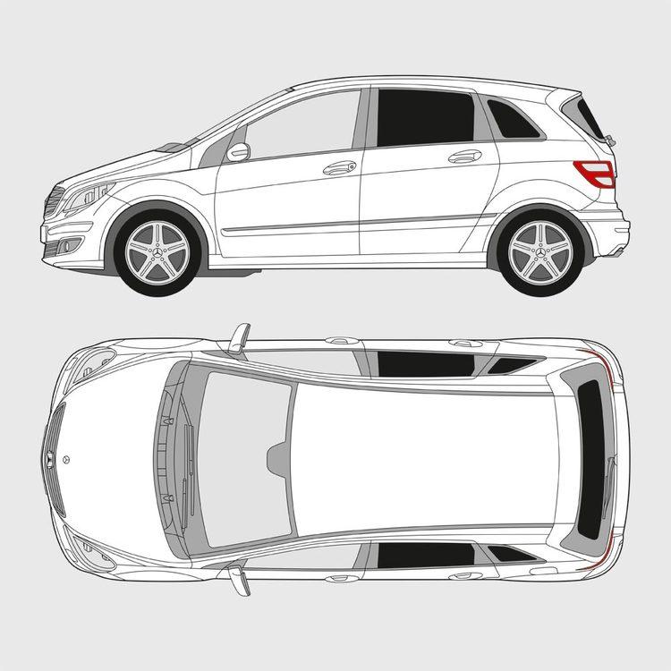 Mercedes B-Klass 2005-2011