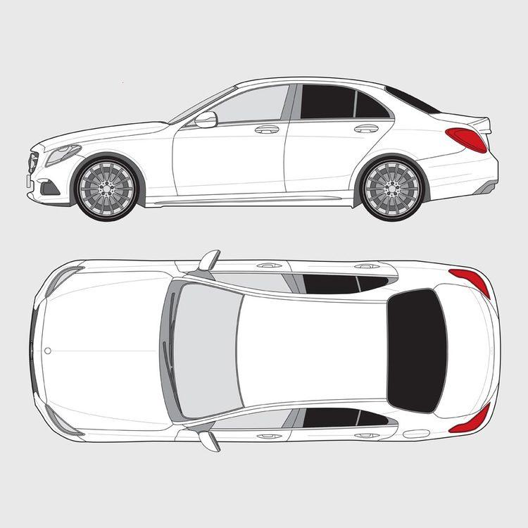 Mercedes C-Klass 4-dörrar 2014-