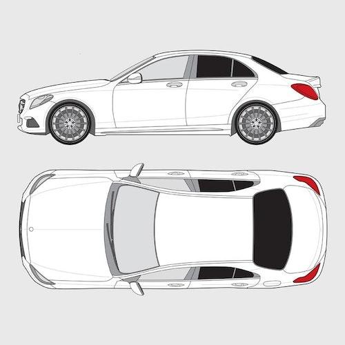 Mercedes C-Klass 4-dörrar
