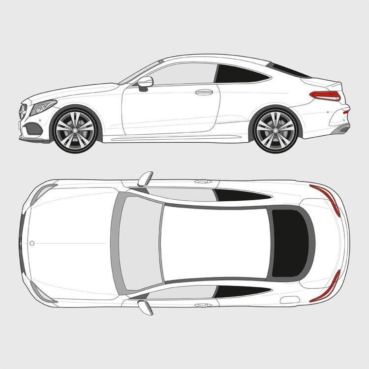 Mercedes C-Klass Coupe 2014-