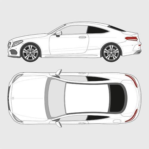 Mercedes C-Klass Coupe