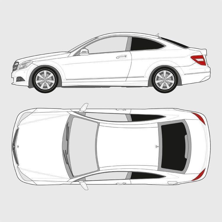 Mercedes C-Klass Coupe 2007-2014