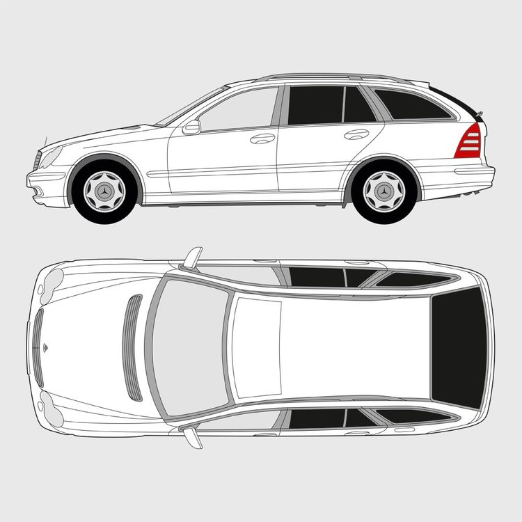 Mercedes C-Klass kombi 2001-2007