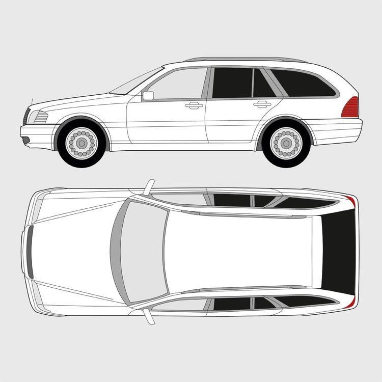 Mercedes C-Klass kombi 1993-2001