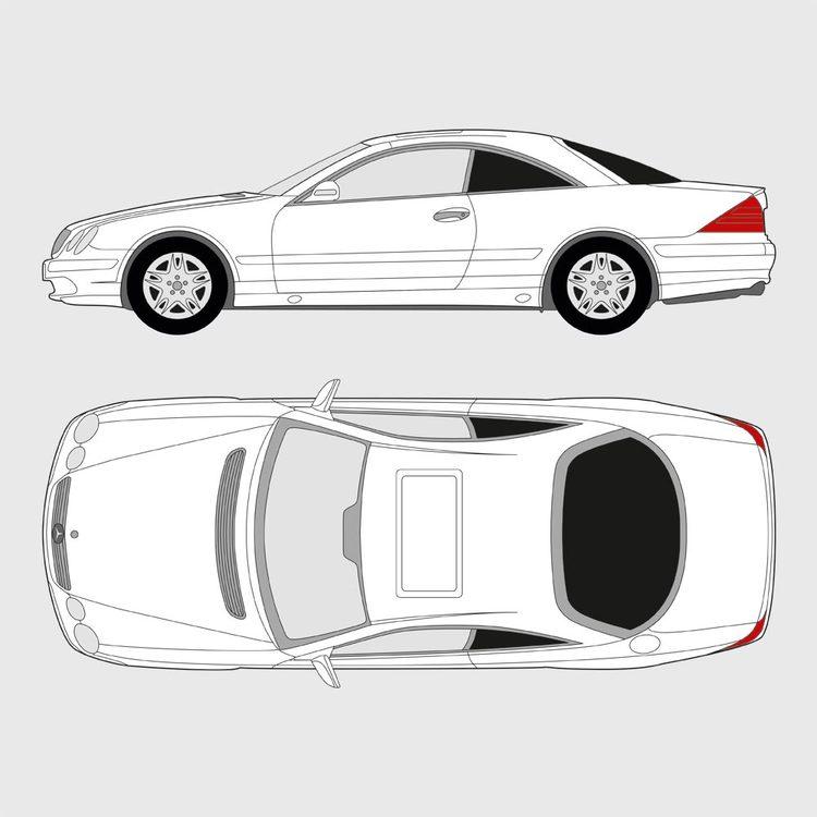 Mercedes CL 1999-2006