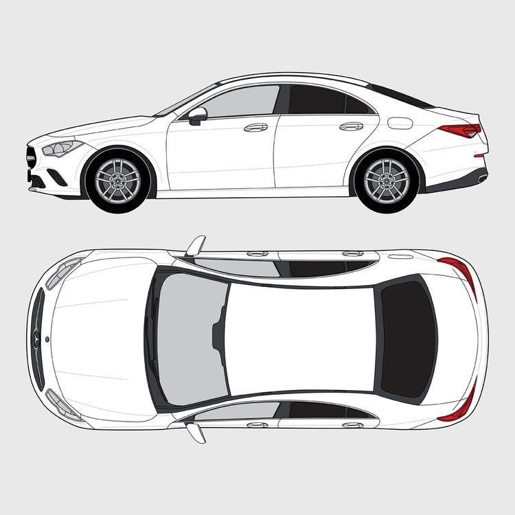Mercedes CLA 4-dörrar 2019-